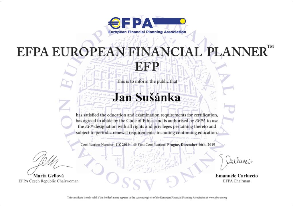 EFP titul
